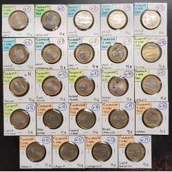 ...FINLANDIA 5€ EUROS 2010+2011+2012+2013 SC Lote 24 MONEDAS