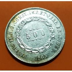 .BRASIL 500 REIS 1913 DAMA PLATA SC SILVER BRAZIL KM.512