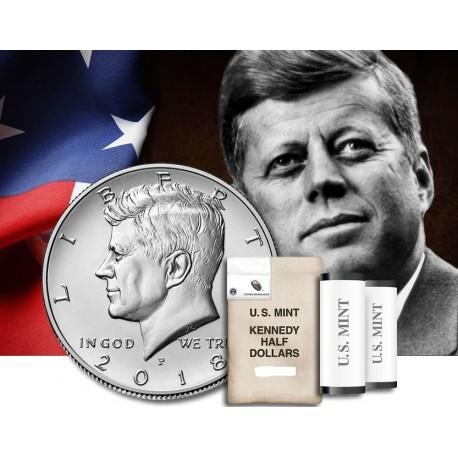 Estados Unidos 1 2 Dolar 2018 P John Fitzgerald Kennedy Km 202