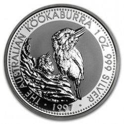 AUSTRALIA 1 DOLAR 1997 KOOKABURRA PLATA SC SILVER DOLLAR