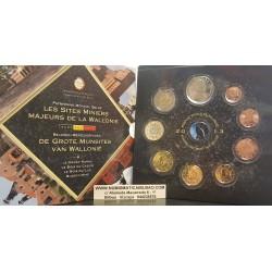 BELGICA CARTERA OFICIAL EUROS 2013 BU SET 1+2+5+10+20+50 CENTIMOS 1 EURO + 2 EUROS 2013 SC MONEDAS DISEÑO TIPO 2