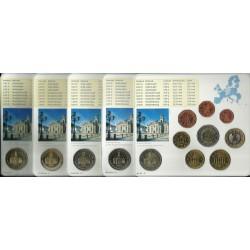 ALEMANIA CARTERA OFICIAL EURO 2009 SC KMS BU A+D+F+G+J