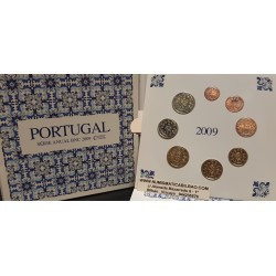 PORTUGAL CARTERA EUROS 2003 : 1+2+5+10+20+50 Centimos 1€+2€