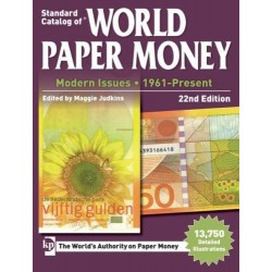 @OFERTA@ CATALOGO DE BILLETES MUNDIALES WORLD PAPER MONEY 1961 2017 Editorial KRAUSE Edición 22th (2017)