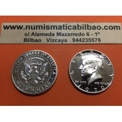 ESTADOS UNIDOS 1/2 DOLAR 1970 S KENNEDY PROOF HALF DOLLAR PLATA
