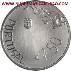 PORTUGAL 7,50 EUROS 2018 ROSA MOTA SC MONEDA DE PLATA