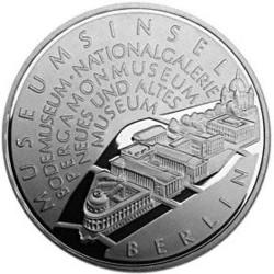 ALEMANIA 10 EUROS 2002 Ceca A MONEDA DE PLATA SC SILVER EURO COIN MUSEO NACIONAL EN BERLIN
