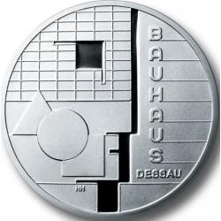 ALEMANIA 10 EUROS 2004 Ceca A MONEDA DE PLATA SC SILVER EURO COIN MATEMATICO BAUHAUS DESSAU