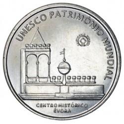 PORTUGAL 5 EUROS 2004 UNESCO CENTRO HISTORICO DE EVORA MONEDA DE PLATA SC SILVER