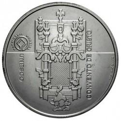 PORTUGAL 5 EUROS 2004 UNESCO CONVENTO DE CRISTO MONEDA DE PLATA SC SILVER