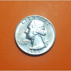 USA 1/4 DOLLAR 1964 P WASHINGTON PROOF SILVER QUARTER