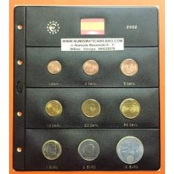 @OFERTA@ ESPAÑA MONEDAS EURO 2002 SC 1+2+5+10+20+50 Centimos 1+2 EUROS + 12 EUROS 2002 PLATA + HOJA DE PARDO