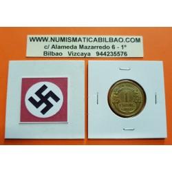 FRANCIA 1 FRANCO 1939 DAMA Tipo MORLON KM.885 MONEDA DE LATON MBC+ PRE OCUPACION NAZI WWII