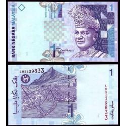 MALASIA 1 RINGGIT 1998 REY RAHMAN y OASIS BAJO MONTAÑA Pick 39 BILLETE SC Malaysia UNC BANKNOTE BANK NEGARA