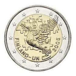 FINNLAND 2 EUROS 2005 ONU BIRD UNC BIMETALLIC