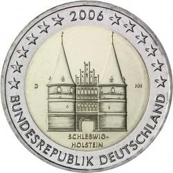 ALEMANIA 2 EUROS 2006 HOLSTENTOR en LUBECK SC BIMETALICA MONEDA CONMEMORATIVA Germany