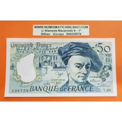 FRANCIA 50 FRANCOS 1990 QUENTIN DE LA TOUR Serie Y.60 - 226759 Pick 152B BILLETE EBC France 50 Francs