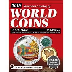 CATALOGO DE MONEDAS MUNDIALES WORLD COINS 2001 2019 Editorial Krause Edición 14th