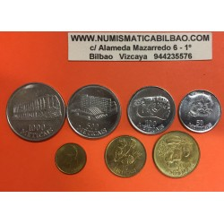 @7 MONEDAS@ MOZAMBIQUE MONEDAS DIFERENTES MOTIVOS 1994 NICKEL LATON MOCAMBIQUE