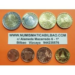 SERIE EUROS ESLOVENIA 2007 : 1+2+5+10+20+50 Centimos 1+2€