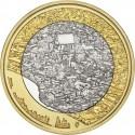FINLANDIA 5 EUROS 2018 Paisajes Nacionales Nº 8 CIUDAD DE PORVOO SC moneda bimetálica