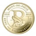 @AGOTADA@ BELGICA 2,50 EUROS 2018 MONTE DE PIEDAD 400 ANIVERSARIO SC MONEDA DE LATON COINCARD