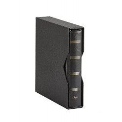 ALBUM PARDO PARA MONEDAS UNIVERSALES modelo 74501 NEGRO compatible con Hojas serie 751-761-755-771-Euros...