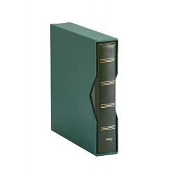 ALBUM PARDO PARA MONEDAS UNIVERSALES modelo 74504 VERDE compatible con Hojas serie 751-761-755-771-Euros...