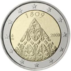 FINNLAND 2 EUROS 2009 BICENTENARY UNC BIMETALLIC