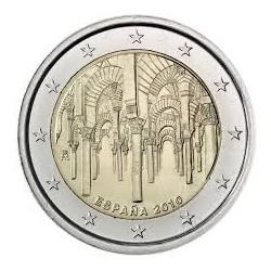 SPAIN 2 EUROS 2010 MEZQUITA DE CORDOBA UNC BIMETALLIC