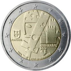 PORTUGAL 2 EUROS 2012 GUIMARAES CAPITAL EUROPEA CULTURA SC BIMETALICA MONEDA CONMEMORATIVA