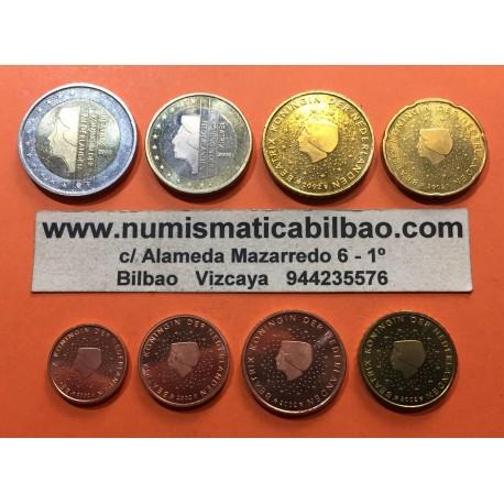 HOLANDA SERIE EUROS 2012 : 1+2+5+10+20+50 Centimos 1+2€ SC