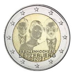 LUXEMBURGO 2 EUROS 2013 BODA REAL SC BIMETALICA (2012)