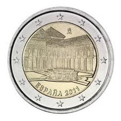 ESPAÑA 2 EUROS 2011 LA ALHAMBRA en GRANADA SC BIMETALICA MONEDA CONMEMORATIVA Spain