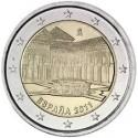 SPAIN 2 EUROS 2011 LA ALHAMBRA UNC BIMETALLIC