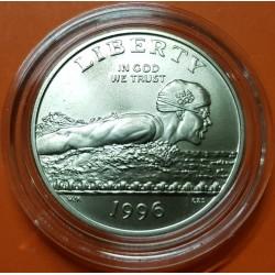 ESTADOS UNIDOS 1/2 DOLAR 1995 S KENNEDY NICKEL PROOF HALF DOLLAR
