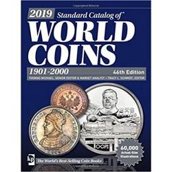 CATALOGO DE MONEDAS MUNDIALES WORLD COINS 1901 2000 Editorial Krause Edición 46th 2NOVEDAD 2019@