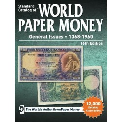 CATALOGO DE BILLETES MUNDIALES Standard Catalog WORLD PAPER MONEY 1368 1960 Edit. Krause Edic. 16th @NOVEDAD 2019@