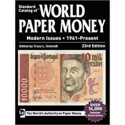 @OFERTA DOBLEZ@ CATALOGO DE BILLETES MUNDIALES WORLD PAPER MONEY MODERN ISSUES 1961 2019 Edit. KRAUSE Edic. 23th