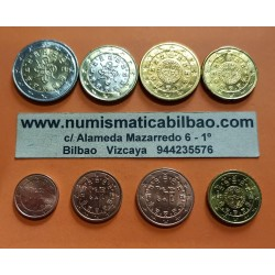 PORTUGAL MONEDAS EURO 2013 SC : 1+2+5+10+20+50 Centimos + 1 EURO + 2 EUROS 2013 Serie Tira @PROCEDE DE CARTERA OFICIAL - RARA@