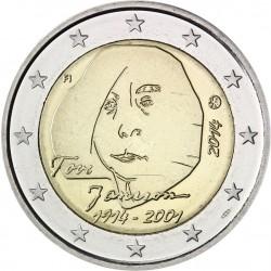 ....2€ EUROS 2014 FINLANDIA TOV JANSSON MONEDA SIN CIRCULAR
