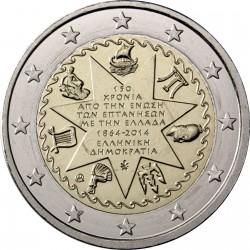 ..GRECIA 2€ EUROS 2014 ADHESION DE LAS ISLAS JONICAS SC