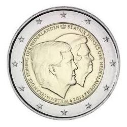 .....2€ EUROS 2014 HOLANDA NUEVOS REY MONEDA SIN CIRCULAR