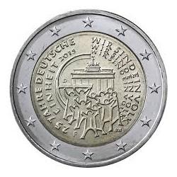 ALEMANIA 2 EUROS 2015 UNIFICACION 25 ANIVERSARIO SC MONEDA CONMEMORATIVA Germany