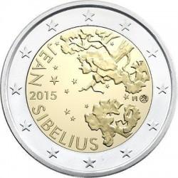 . 2 EUROS 2015 FINLANDIA MUSICO JEAN SIBELIUS SC