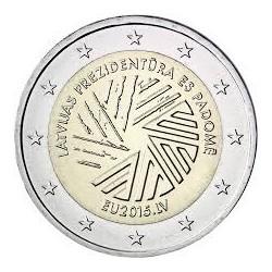 . 2 EUROS 2015 LETONIA PRESIDENCIA DE EUROPA SC Moneda Coin