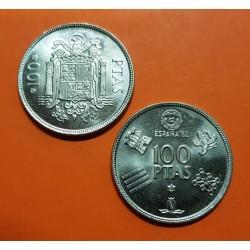 ESPAÑA 100 PESETAS 1975 * 76 ESCUDO SIN CIRCULAR JUAN CARLOS I