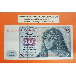 ALEMANIA 10 MARCOS 1970 ALBERT DURER Pick 31A BILLETE MBC+ Germany Federal BRD 10 Marks NUEVO 24€