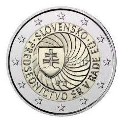 ESLOVAQUIA 2 EUROS 2016 PRESIDENCIA DE LA UNION EUROPEA SC MONEDA CONMEMORATIVA COIN SLOVAKIA