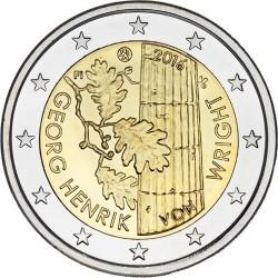 FINLANDIA 2 EUROS 2016 GEORG HENRIK VON WRIGHT SC MONEDA SC CONMEMORATIVA Finnland coin